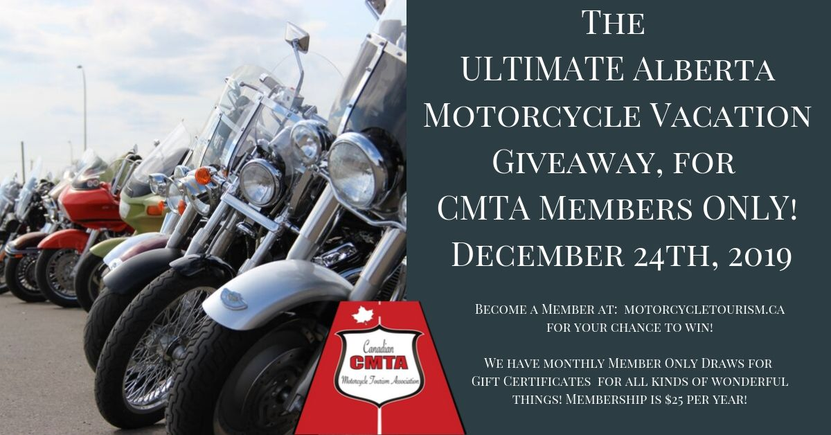 Join CMTA for chance to win the Ultimate Alberta Vacation