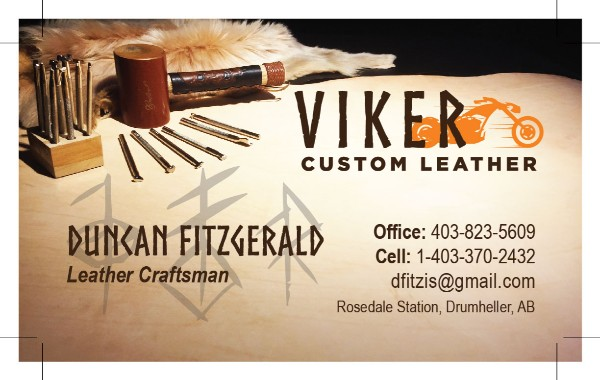 Viker Leather card
