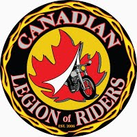 Canadian Legion Riders Logo