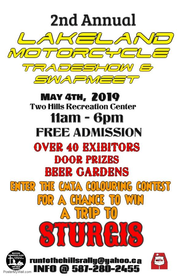 2nd Annual Lakeland Motorcycle Trade & Swap