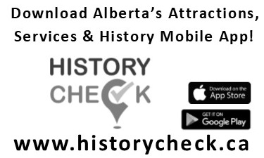 History Check - Download Alberta's Attractions, Services & History App!